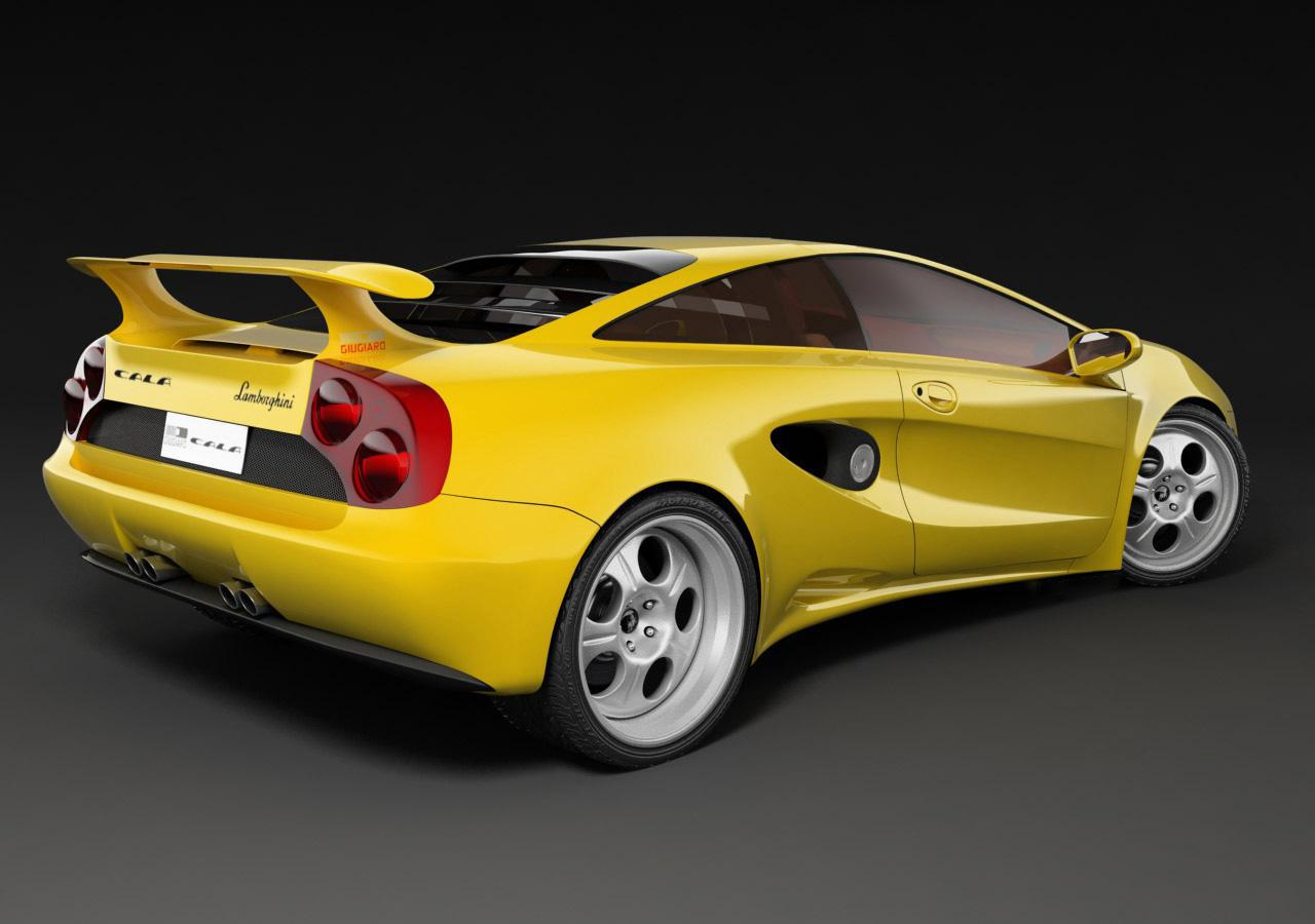 1995 Lamborghini Cala Related Infomation Specifications